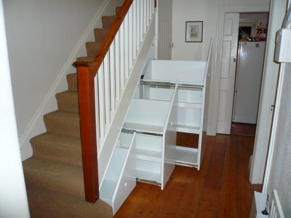 attic stairway ideas - Under Stairs Storage Systems Under Stair Space Solutions